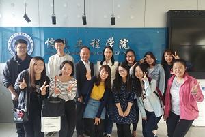 欣欣向2017年3月线上师资培训团队表达感谢