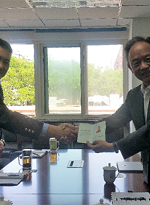 Steve Ting Received Official Certificate as the Chief Representative of Shin Shin Beijing Office