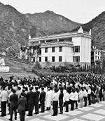 欣欣参加汶川抗震救灾10周年纪念仪式侧记